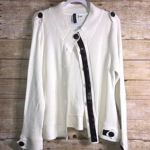 Plus size Jason Maxwell sweater/jacket